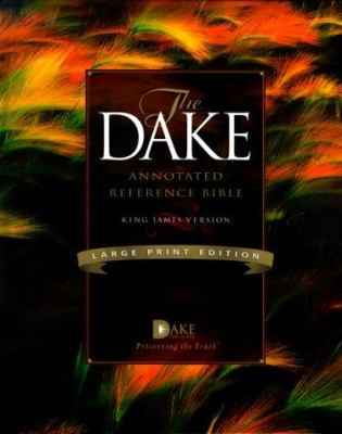 Dake Annotated Reference Bible-KJV-Large Print 9781558291232