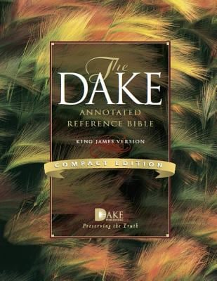 Dake Annotated Reference Bible-KJV-Compact 9781558292284