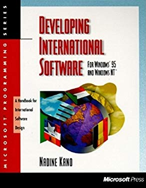 Developing International Software for Windows 95 and Windows NT 9781556158407