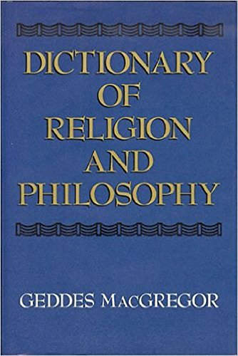 Dictionary of Religion and Philosophy 9781557780195