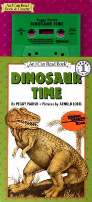 Dinosaur Time Book and Tape [With Book] 9781559942621