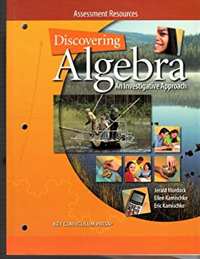 Discovering Algebra An Investigative Approach: Assessment Resources