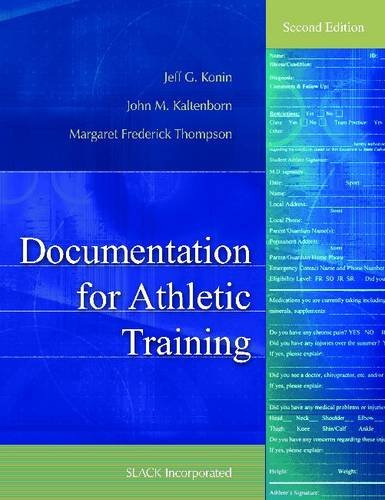 Documentation for Athletic Training 9781556429828