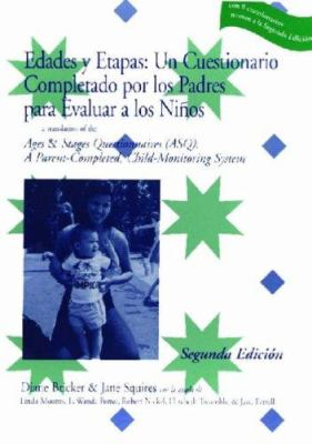 Edades y Etapas: Complete Asq Questionnaire in Spanish: Ages & Stages Questionnaires [With 19 Master Questionaires and 19 Scoring Sheets] 9781557663696