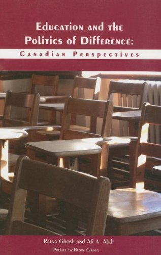 Education and the Politics of Difference: Canadian Perspectives 9781551302669