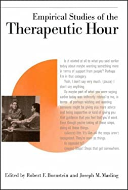 Empirical Studies of the Therapeutic Hour 9781557985262