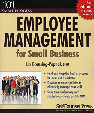 Employee Management for Small Business [With CDROM] 9781551808635