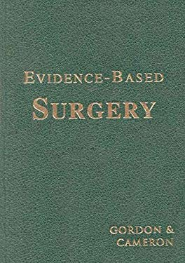 Evidence-Based Surgery (Book for Windows & Macintosh) [With CD-ROM] 9781550091168