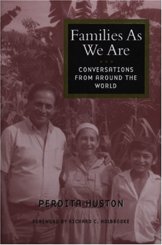 Families as We Are: Conversations from Around the World 9781558612501