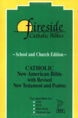 Fireside School & Church Bible-Nab 9781556654909