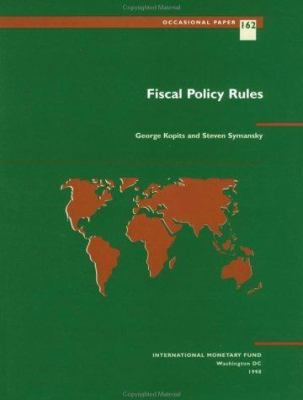 Fiscal Policy Rules 9781557757043