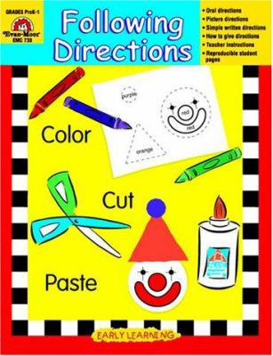 Following Directions by Evan-Moor Educational Publishing
