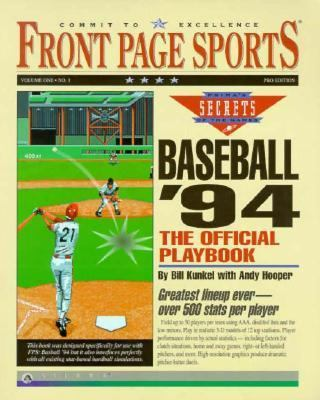 Front Page Sports Baseball 94: The Official Playbook