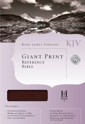 Giant Print Reference Bible-KJV 9781558197558