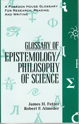 Glossary Epistemology 9781557785596