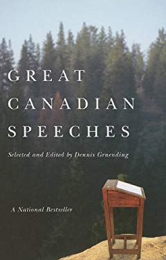 Great Canadian Speeches 9781550419146