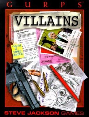 Gurps Villains 9781556344145
