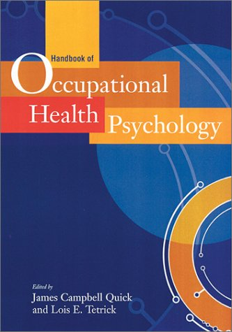 Handbook of Occupational Health Psychology 9781557989277