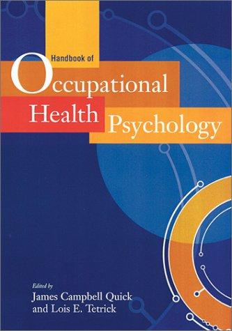 Handbook of Occupational Health Psychology 9781557989277