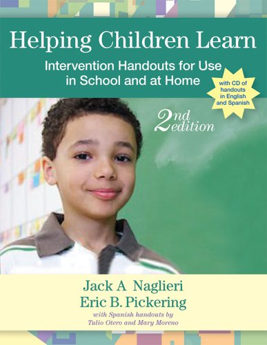 Helping Children Learn: Intervention Handouts for Use in School and at Home [With CDROM] 9781557669988