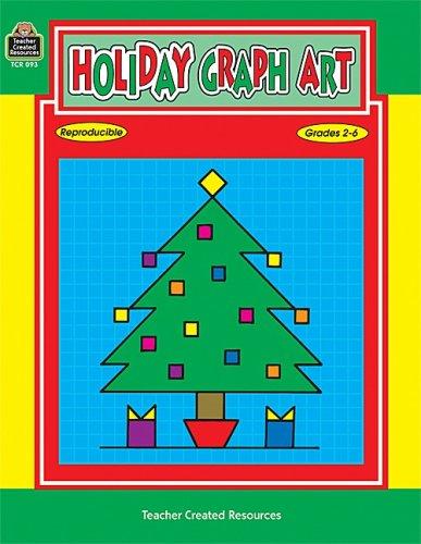 Holiday Graph Art, Grades 2-6 9781557340931