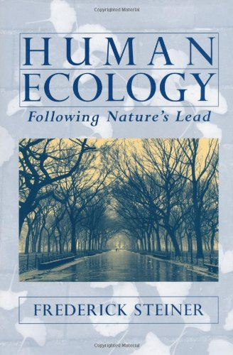 Human Ecology: Following Nature's Lead 9781559639958