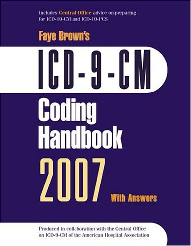 ICD-9-CM Coding Handbook 2007 with Answers 9781556483370
