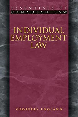 Individual Employment Law 9781552210284