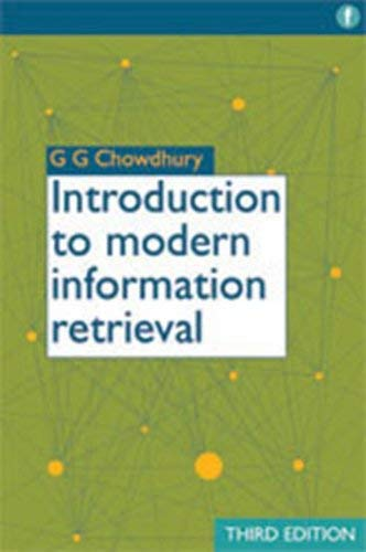 Introduction to Modern Information Retrieval 9781555707156