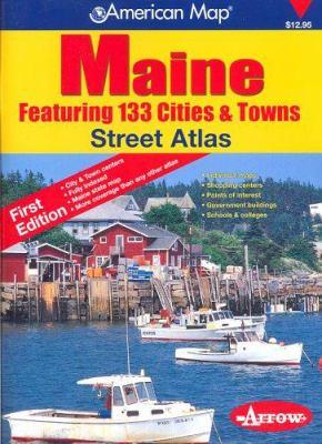 Langenscheidt Maine Street Atlas: 133 Cities & Towns 9781557515155