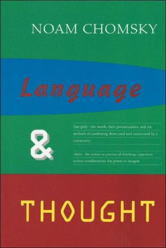 Language & Thought 9781559210744