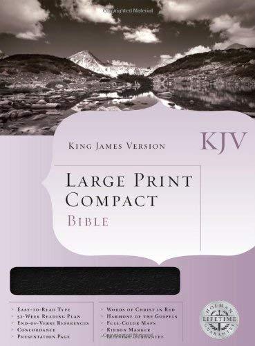 Large Print Compact Bible-KJV 9781558198760
