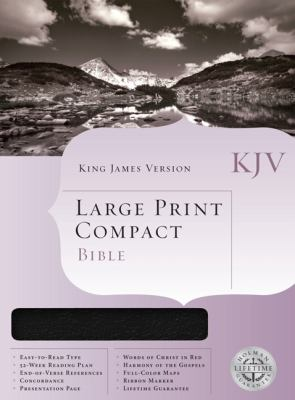 Large Print Compact Bible-KJV 9781558198777