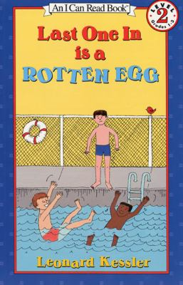 Last One in Is a Rotten Egg Book and Tape: Last One in Is a Rotten Egg Book and Tape [With Book] 9781559943567