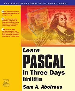 Learn Pascal in Three Days 9781556228056