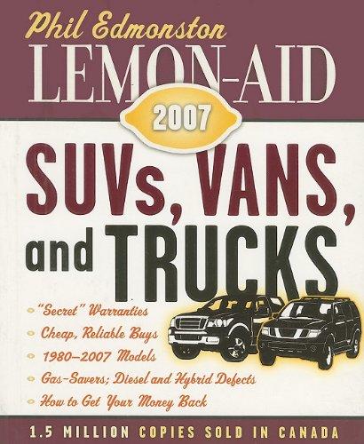 Lemon-Aid: SUVs, Vans, and Trucks 9781554550142