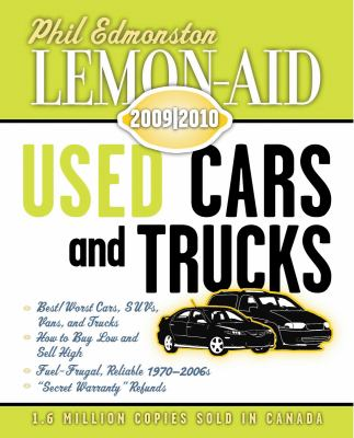 Lemon-Aid Used Cars and Trucks 2009-2010 9781554884049