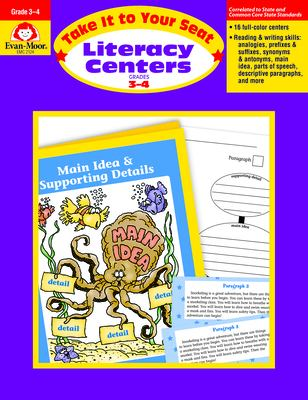Literacy Centers 3-4 9781557999306