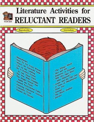 Literature Activities for Reluctant Readers 9781557343543