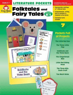 Literature Pockets, Folk Tales and Fairy Tales, Grades K-1 9781557998712
