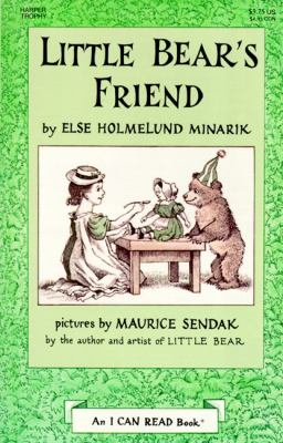 Little Bear's Friend [With] Book 9781559942355