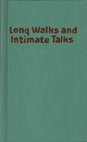 Long Walks and Intimate Talks: Stories, Poems and Paintings 9781558610439