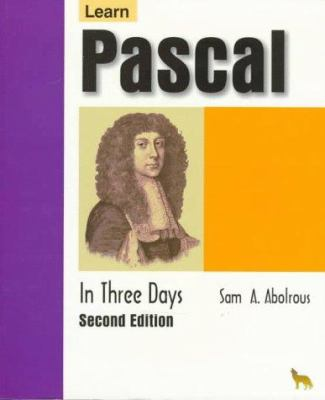 Lrn Pascal/Day 2nd [With 3.5 Disk] 9781556225673