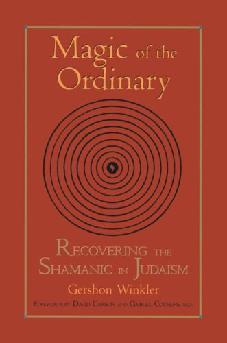 Magic of the Ordinary: Recovering the Shamanic in Judaism 9781556434440