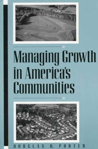 Managing Growth in America's Communities 9781559634427