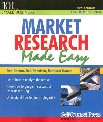 Market Research Made Easy [With CDROM] 9781551806761