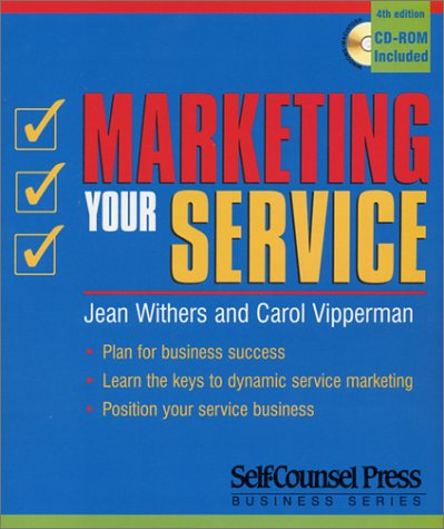 Marketing Your Service [With CDROM] 9781551803951