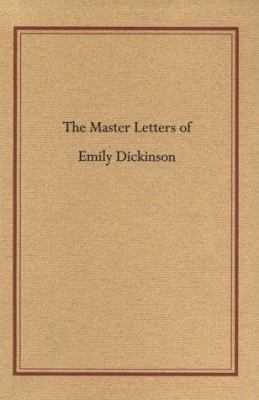 Master Letters of Emily Dickin 9781558491557