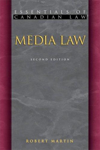 Media Law 9781552210758