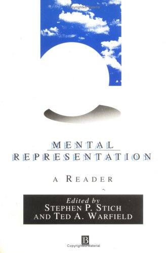 Mental Representation - A Reader 9781557864772